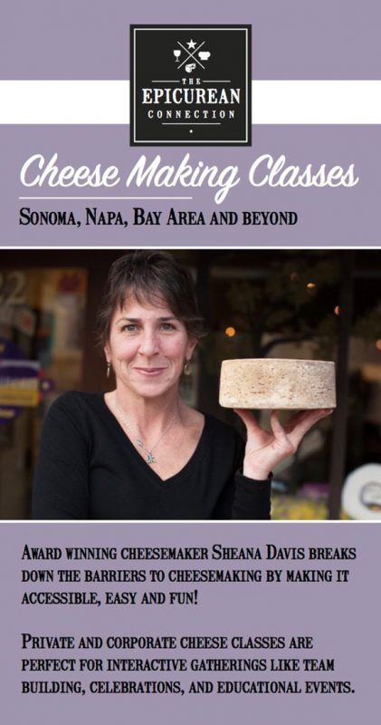 Sonoma Cheese Classes